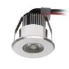 KANLUX Haxa, Power LED mini spot lámpa, 1W, 70 Lm, Meleg fehér, kerek, Kanlux