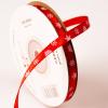 Karácsonyi hópehely mintás szatén szalagok - 6 mm több szín