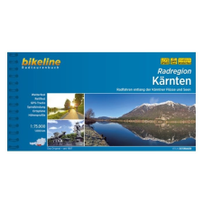 Karintia kerékpáratlasz / Radatlas Kärnten térkép