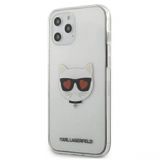 """Karl Lagerfeld KLHCP12LCLTR iPhone 12 6,7"""" Pro Max tok Átlátszó Choupette telefontok tok és táska"""