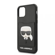 Karl Lagerfeld tok fekete (KLHCN58CSKCBK) Apple Iphone 11 Pro készülékhez tok és táska