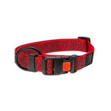Karlie Nyakörv ASP Mix&Match piros graffiti minta, L/XL nyakörv, póráz, hám kutyáknak