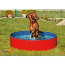 Karlie összecsukható kutyamedence, kék/piros, 120x30 cm játékfigura