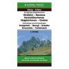Kárpát-kanyar térkép (Öt hegység) / Dimap