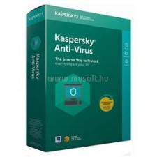 Kaspersky Antivirus 2018 HUN 1 géphez 1 éves licenc (KAV-KAVI-0001-LN12) karbantartó program