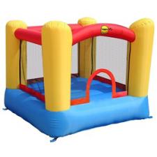 Kastély ugrálóvár - 200x210x160cm kerti játék