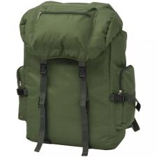 Katona stílusú 65 L hátizsák zöld hátizsák