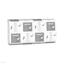 Katrin Kéztörlő Katrin Plus One Stop L3 hajtogatott 3 rétegű, hófehér, 100% cellulóz, 20x34 cm, 90 lapos higiéniai papíráru