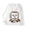 Kávé Pamut Tornazsák - kávé