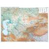 Kazahsztán domborzati falitérkép - GiziMap