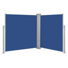 Kék behúzható oldalsó napellenző 140 x 600 cm kerti bútor