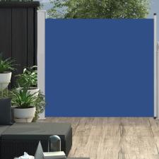 Kék kihúzható oldalsó teraszi napellenző 170 x 300 cm kerti dekoráció