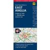 Kelet-Anglia térkép - AA