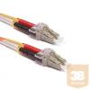 KELine POM3D-LCLC-010 Duplex LC-LC patch kábel, OM3 50/125 µm, 1 méter