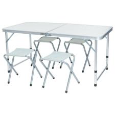 Kemping asztal 4 székkel kerti bútor