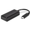 Kensington USB 2.0 Type C VGA/D-Sub Átalakító Fekete 10cm K33994WW