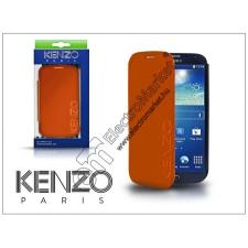 Kenzo Samsung i9500 Galaxy S4 flipes bőrtok - Kenzo GlossyCox - orange tok és táska