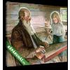 Képáruház.hu Az öreg vándorénekes unokájával(25x20 cm, vászonkép)