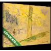 Képáruház.hu Berthe Morisot: Tó Bois de Boulogne-ban(30x20 cm, vászonkép)