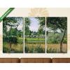 Képáruház.hu Camille Pissarro: Eragny reggeli napsütésben(125x70 cm, L01 Többrészes Vászonkép)