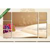 Képáruház.hu Love - nyitott könyvön(135x80 cm, W01 Többrészes Vászonkép)