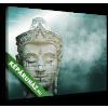 Képáruház.hu Misztikus Buddha(30x20 cm, vászonkép)