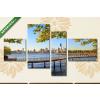 Képáruház.hu New York látképe(125x70 cm, S02 Többrészes Vászonkép)