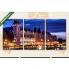 Képáruház.hu Párizs, Igazságügyi Palota(125x60 cm, L02 Többrészes Vászonkép)