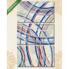 Képáruház.hu Premium Kollekció: an abstract painting(125x70 cm, L01 Többrészes Vászonkép)