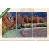 Képáruház.hu Premium Kollekció: Autumn landscape in the mountains of Patagonia(125x70 cm, L01 Többrészes Vászonkép)