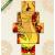 Képáruház.hu Premium Kollekció: figure of flamenco dance(135x70 cm, S01 Többrészes Vászonkép)