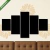 Képáruház.hu Premium Kollekció: Motivációs idézet 006(135x70 cm, S01 Többrészes Vászonkép)