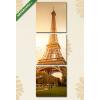 Képáruház.hu Premium Kollekció: Paris(125x40 cm, B01 Többrészes Vászonkép)
