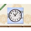 Képáruház.hu Vászonkép óra, Premium Kollekció: Riomaggiore, Cinque Terre, Liguria, Italy(25x25 cm, C01)