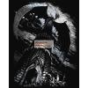 Képkarcoló készlet karctűvel - 20x25 cm - Ezüst - Sárkánytorony