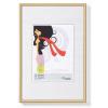 """. Képkeret, műanyag, 13x18 cm,  """"New  Lifestyle"""", arany"""