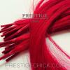 Keratinos valódi hajtincsek 20 Gramm 50 cm festett villogó vörös