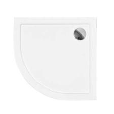 Kerra ARON80 univerzális íves alacsony zuhanytálca 80x80x5,5 cm kád, zuhanykabin