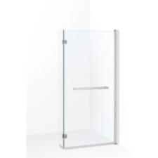 Kerra Cristal 21 kádparaván, 150x82 cm, króm profil, víztiszta üveg fürdőszoba kiegészítő