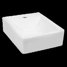 Kerra THOR14 Thor 14 függesztett mosdó, fehér színben 46x38 cm fürdőkellék