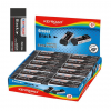 KeyRoad Radír -KR971492- 61x22x12mm FEKETE KEYROAD 20db/display