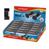 KeyRoad Radír -KR971494- 40x18x12mm mini FEKETE KEYROAD 30db/display