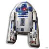KIDS LICENSING kellékek Star Wars Csillagok Háborúja forma R2D2 40cm velour gyerek