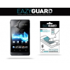 Kijelzővédő fólia, Sony Xperia Go, Eazy Guard, Clear Prémium / Matt, ujjlenyomatmentes, 2 db / csomag