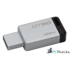 Kingston 128GB USB3.0 Ezüst-Fekete (DT50/128GB) Flash Drive