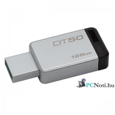Kingston 128GB USB3.0 Ezüst-Fekete (DT50/128GB) Flash Drive pendrive