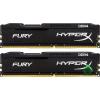Kingston 16GB 2133MHz DDR4 RAM Kingston HyperX Fury Black CL14 (2X8GB) (HX421C14FB2K2/16) (HX421C14FB2K2/16)