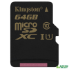 Kingston 64GB microSDXC Kingston (SDCG/64GBSP)