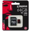 Kingston 64GB UHS-I U3 microSDXC memóriakártya