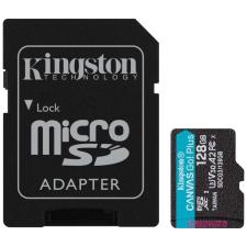 Kingston Canvas Go! Plus microSDXC 128GB + adapter memóriakártya